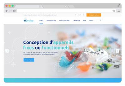 creation-site-internet-laboratoire-orthodontie-cardea